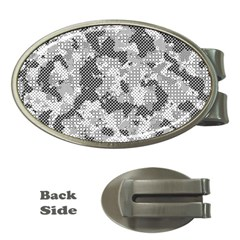 Camouflage Patterns Money Clips (oval)