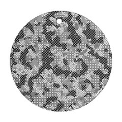 Camouflage Patterns Round Ornament (Two Sides)