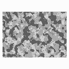 Camouflage Patterns Large Glasses Cloth