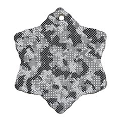 Camouflage Patterns Ornament (snowflake)
