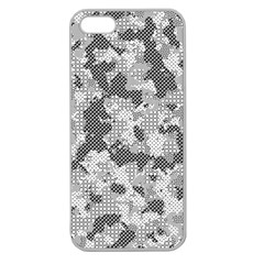 Camouflage Patterns Apple Seamless iPhone 5 Case (Clear)