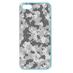 Camouflage Patterns Apple Seamless Iphone 5 Case (color)