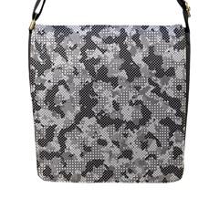 Camouflage Patterns Flap Messenger Bag (l)