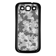 Camouflage Patterns Samsung Galaxy S3 Back Case (Black)