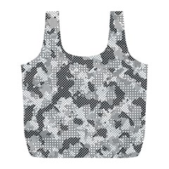 Camouflage Patterns Full Print Recycle Bags (L)