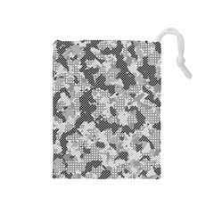 Camouflage Patterns Drawstring Pouches (Medium)
