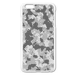 Camouflage Patterns Apple iPhone 6 Plus/6S Plus Enamel White Case