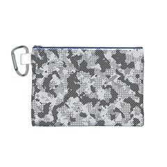 Camouflage Patterns Canvas Cosmetic Bag (M)