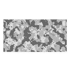 Camouflage Patterns Satin Shawl