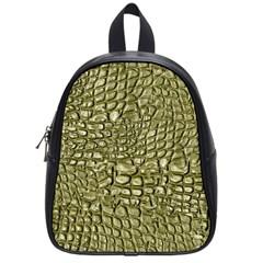 Aligator Skin School Bags (small)