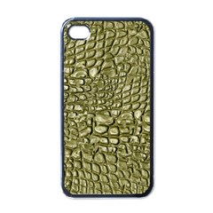 Aligator Skin Apple iPhone 4 Case (Black)