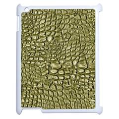 Aligator Skin Apple iPad 2 Case (White)