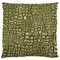 Aligator Skin Large Cushion Case (one Side)