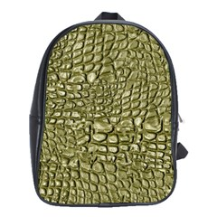 Aligator Skin School Bags (XL)