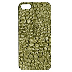 Aligator Skin Apple iPhone 5 Hardshell Case with Stand