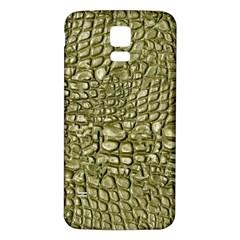 Aligator Skin Samsung Galaxy S5 Back Case (white)