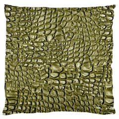 Aligator Skin Standard Flano Cushion Case (one Side)