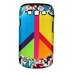 Peace Sign Animals Pattern Samsung Galaxy S Iii Classic Hardshell Case (pc+silicone)