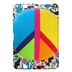 Peace Sign Animals Pattern Kindle Fire Hd 8 9