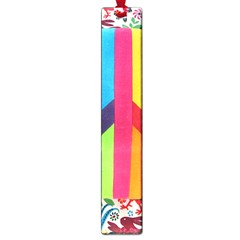 Peace Sign Animals Pattern Large Book Marks