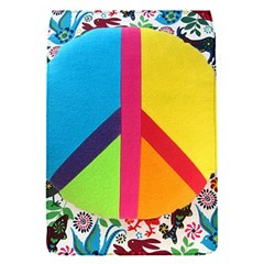 Peace Sign Animals Pattern Flap Covers (s)