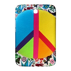 Peace Sign Animals Pattern Samsung Galaxy Note 8 0 N5100 Hardshell Case