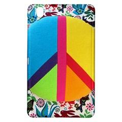 Peace Sign Animals Pattern Samsung Galaxy Tab Pro 8 4 Hardshell Case