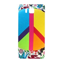 Peace Sign Animals Pattern Samsung Galaxy Alpha Hardshell Back Case