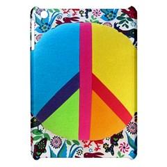 Peace Sign Animals Pattern Apple Ipad Mini Hardshell Case