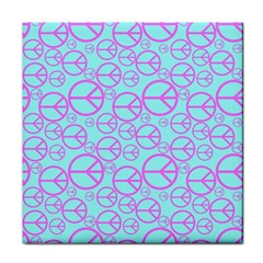Peace Sign Backgrounds Tile Coasters