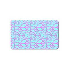 Peace Sign Backgrounds Magnet (Name Card)