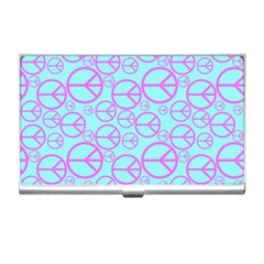 Peace Sign Backgrounds Business Card Holders