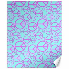 Peace Sign Backgrounds Canvas 16  X 20