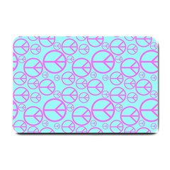 Peace Sign Backgrounds Small Doormat