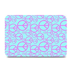Peace Sign Backgrounds Plate Mats