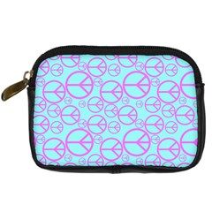 Peace Sign Backgrounds Digital Camera Cases