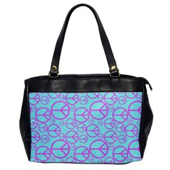 Peace Sign Backgrounds Office Handbags