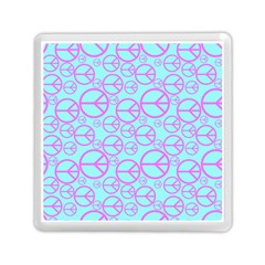 Peace Sign Backgrounds Memory Card Reader (Square)