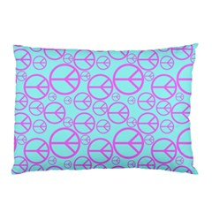 Peace Sign Backgrounds Pillow Case (two Sides)