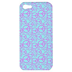 Peace Sign Backgrounds Apple iPhone 5 Hardshell Case