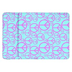 Peace Sign Backgrounds Samsung Galaxy Tab 8.9  P7300 Flip Case