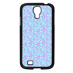 Peace Sign Backgrounds Samsung Galaxy S4 I9500/ I9505 Case (black)