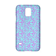 Peace Sign Backgrounds Samsung Galaxy S5 Hardshell Case