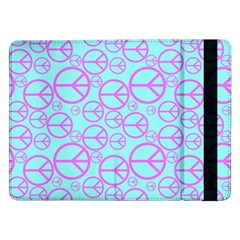 Peace Sign Backgrounds Samsung Galaxy Tab Pro 12 2  Flip Case