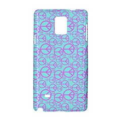 Peace Sign Backgrounds Samsung Galaxy Note 4 Hardshell Case
