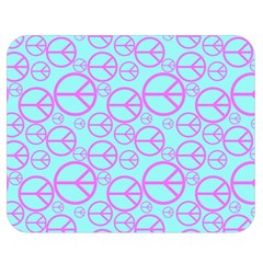 Peace Sign Backgrounds Double Sided Flano Blanket (medium)