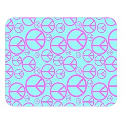 Peace Sign Backgrounds Double Sided Flano Blanket (Large)