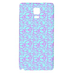 Peace Sign Backgrounds Galaxy Note 4 Back Case