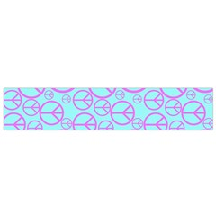Peace Sign Backgrounds Flano Scarf (small)