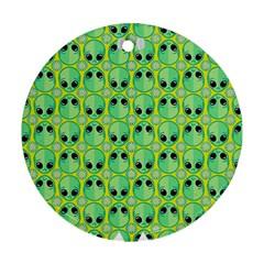 Alien Pattern Ornament (round)